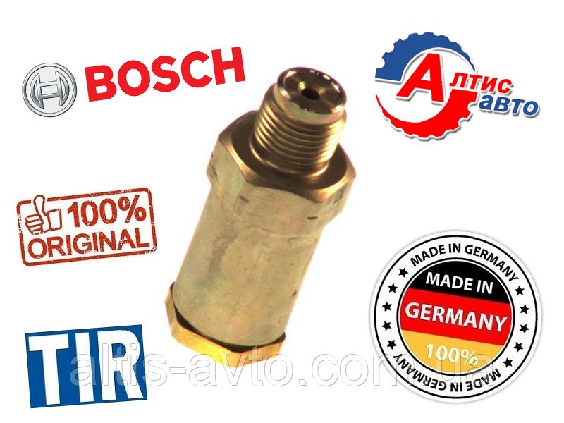 Обратный топливный клапан MAN TGA, TGM TGX, TGL TGS (Common Rail) 1110010020 Bosch