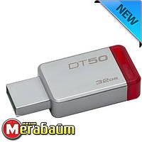 Flash Drive 32GB USB 3.0 Kingston DataTraveler 50 Metal/Red (DT50/32GB), фото 1