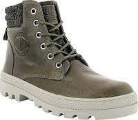 Женские ботинки Palladium Pallabosse HI Cuff Leather Boot Fallen Rock Rainy  Day Leather ec64c8909315b