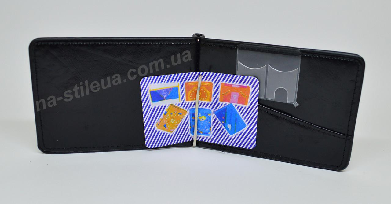6c204e907637 Мужской кожаный кошелек портмоне зажим для денег BVEIS новый шкіряний