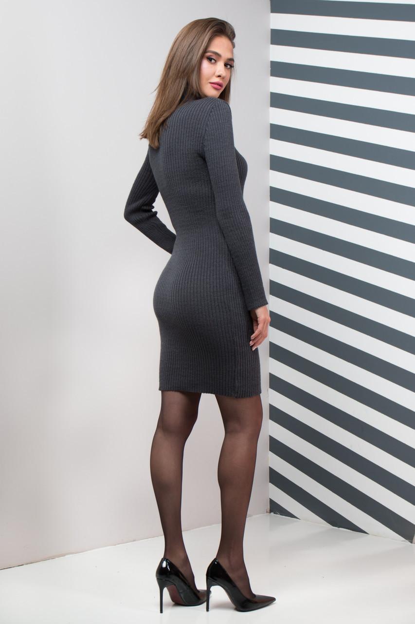 fbb4cfa25c92 Вязаное платье в офис 7цветов, цена 340 грн., купить в Харькове — Prom.ua  (ID#876555773)