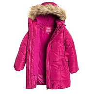 Зимнее пальто для девочки  Cool club