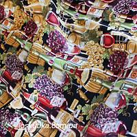 33007 Винный погребок. Ткань для декорирования, и для изготовления хендмэйд поделок.