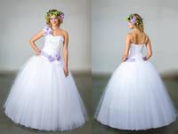 Свадебное платье Лейла и аксессуары к нему