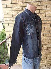 Куртка мужская  джинсовая стрейчевая  VIGOOCC, фото 2