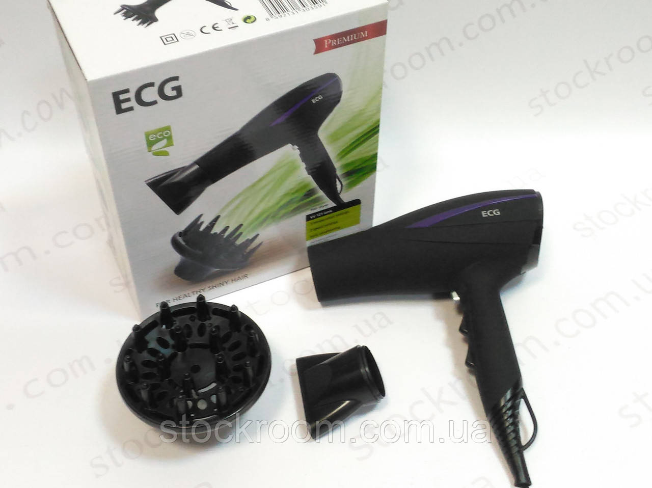 Фен для волос с ионизацией ECG VV 121