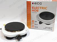 Электроплитка одноконфорочная ECG EV 1510 white настольная, фото 1