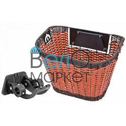 Багажна Корзина передня швидкознімна JL-CK101 для велосипеда з будь-яким діаметром колеса