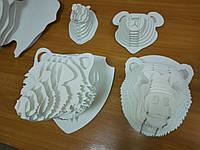 Головы животных 3Д на стену, фото 1