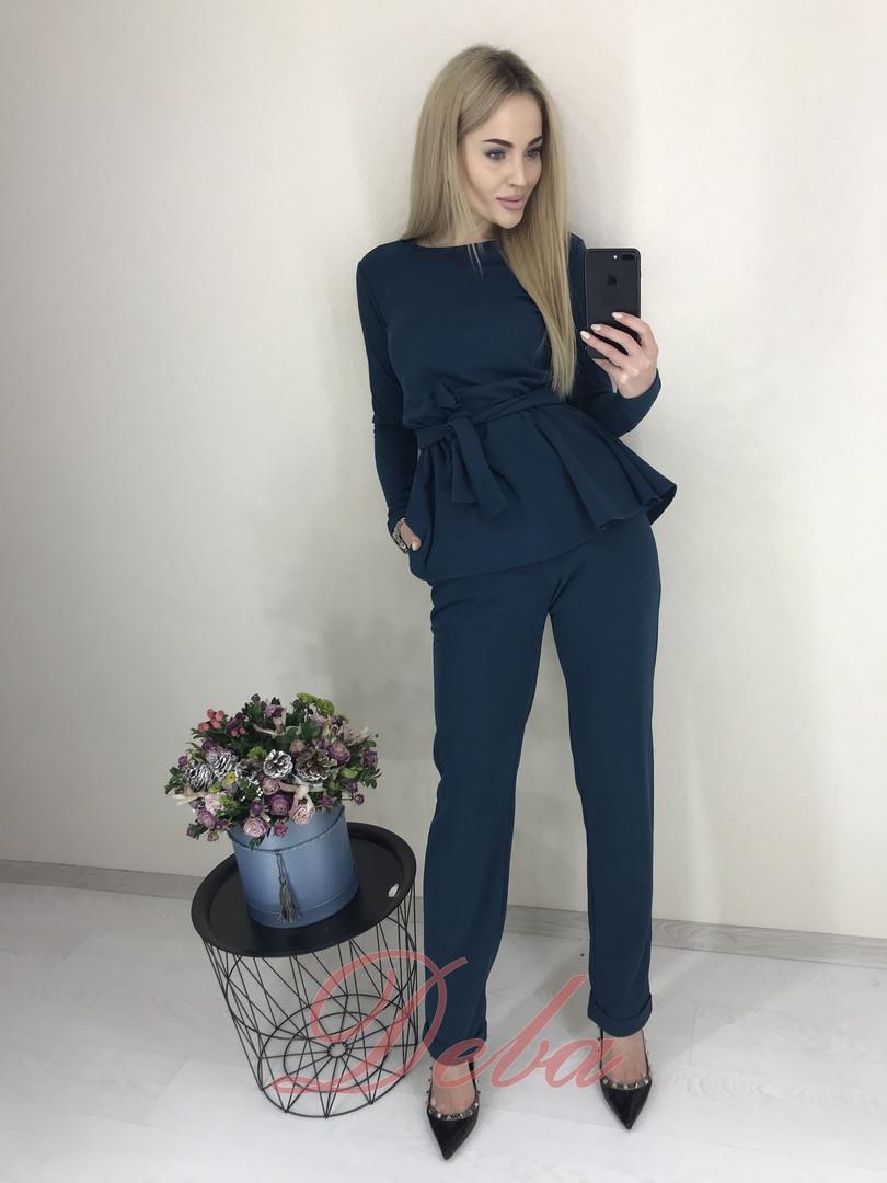 Женский модный костюм  НД333 (бат)