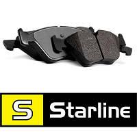 Колодки тормозные задние Kia Rio Starline BDS409