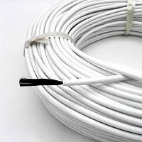 Карбоновый нагреватель (кабель) для инкубатора К-33С, R-33 Ом/м.пог., диаметр -3,0мм., в силиконовой изоляции., фото 1