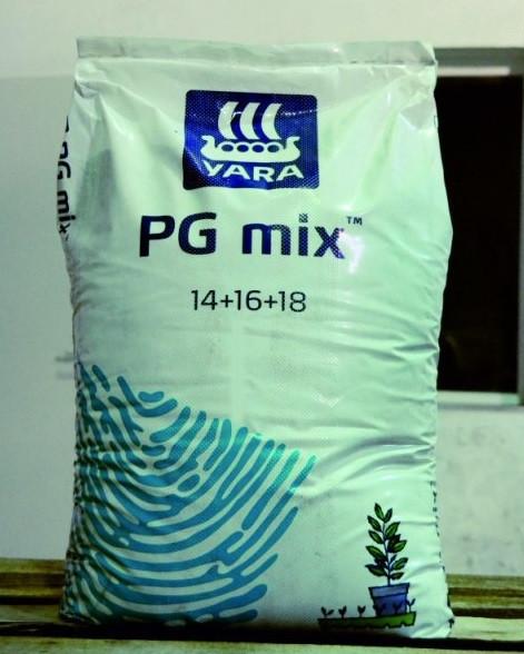 Удобрение ЯРА PG MIX 14-16-18 /  PG MIX 14-16-18 (ФАСОВКА 25 кг Мешок)