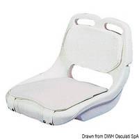 Кресло пластиковое дя катера Seat frame white polyethylene 48.682.01