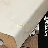 Подоконник Werzalit/Верзалит (Германия) цвет 070 Мрамор бианко ширина 500 мм, фото 2