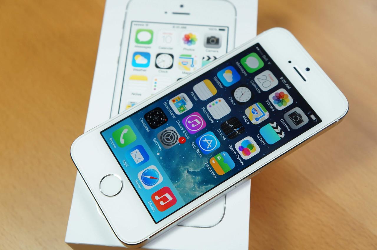 Смартфон Iphone 5S Neverlock 16gb Silver + чехол и стекло