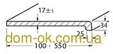 Верзалит деревянный подоконник (Германия) цвет 151 Меранти ширина 450 мм, фото 7