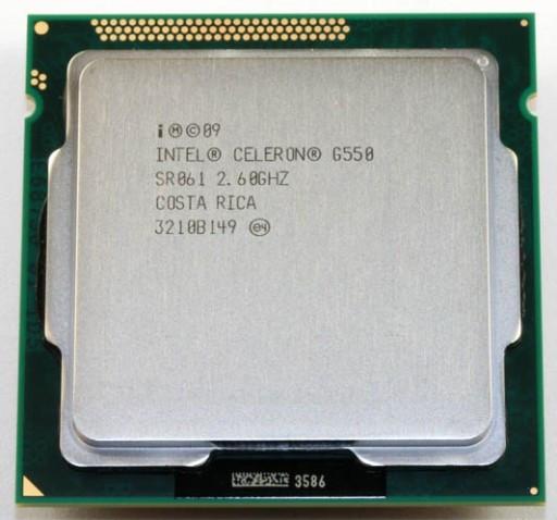 "Процессор Intel Celeron G550 BX80623G550 2.6GHz Tray ""Over-Stock"" Б/У"