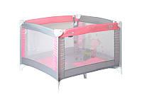 Детский манеж PLAY GREY&PINK ZA ZA для детей с 0 до 36 мес. ТМ Lorelli/Bertoni 10080051817