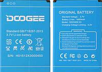 Батарея (АКБ, аккумулятор) для Doogee X3, 1800 mAh, оригинал