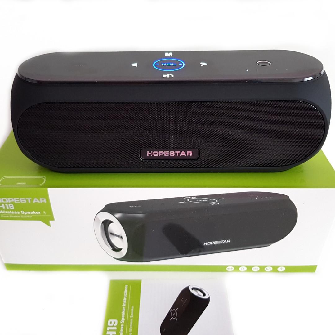 Беспроводная портативная Bluetooth колонка HOPESTAR H19.
