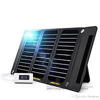 Солнечная батарея панель зарядка Freeman2 21Вт 2USB 5V