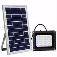 Уличный LED фонарь на солнечной батарее Gedertek 54 Leds Aluminum