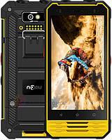 Защищенный смартфон рация Nomu T18 Yellow 3/32 gb 5200 мАч MediaTek MT6737T