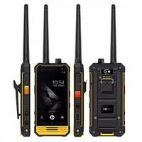 Защищенный смартфон рация Nomu T18 Yellow 3/32 gb 5200 мАч MediaTek MT6737T, фото 2