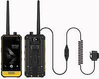 Защищенный смартфон рация Nomu T18 Yellow 3/32 gb 5200 мАч MediaTek MT6737T, фото 5