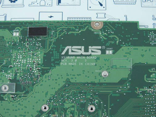 New. Материнская плата Asus X510UQR DIS i5-8250U 90NB0FM0-R00050, фото 2