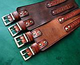 Кожаные  браслеты с надписью, фото 4