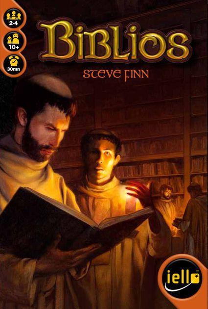 Настольная игра Biblios (Аббатство) eng.