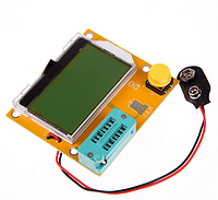 ESR, LCR метер, тестер для конденсаторов T4 Mega328 УЦЕНКА (скол в углу экрана, на работу не влияет)