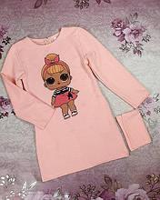 Платье для девочек с сумочкой Марта 110-128 розовый 116