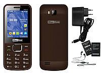 Мобильный телефон Maxcom MM141 Brown