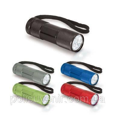 Алюмінієвий ліхтарик з 9-ю LED