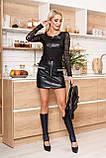 Оригинальная Юбка-шорты из эластичного трикотажа 44-50р, фото 3