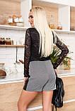 Оригинальная Юбка-шорты из эластичного трикотажа 44-50р, фото 2