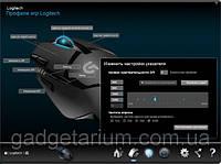 Игровая Мышь Logitech G402 Hyperion Fury Black 8 кнопок, 4000 Dpi, фото 2