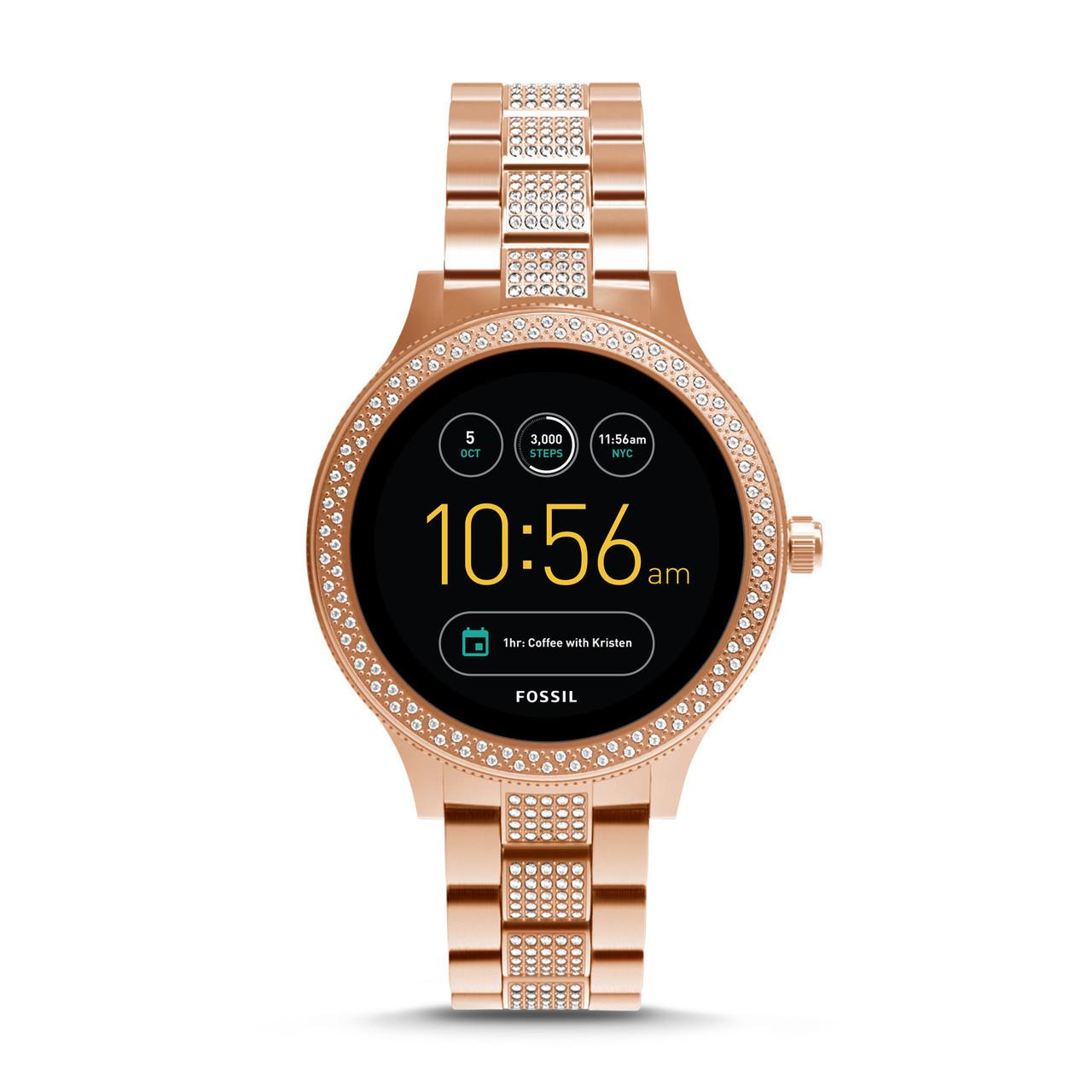 Умные часы Smart Watch Fossil Gen 3 Q Venture Rose Gold-Tone Stainless Steel