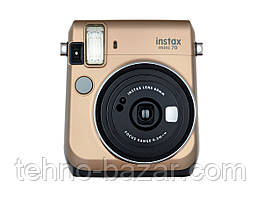 Фотокамера моментальной печати Fujifilm Instax Mini 70 EX D Gold