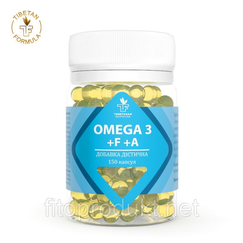 БАД Omega 3 +F+A замедляет процесс старения №60 Тибетская формула