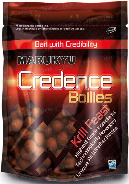 Бойлы Marukyu Credence Krill Feast Boilies 700g 14mm