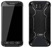 Защищенный смартфон AGM X2 6/64gb Black Snapdragon 653 ip68 6000 мАч