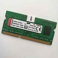 Оперативная память для ноутбука Kingston SODIMM DDR3 4Gb 1600MHz 12800s CL11 (KVR16S11S8/4) Б/У
