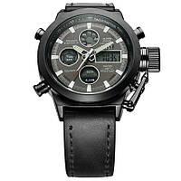 Ударопрочные кварцевые армейские часы AMST Black Оригинал, фото 3
