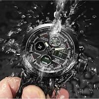 Ударопрочные кварцевые армейские часы AMST Black Оригинал, фото 4