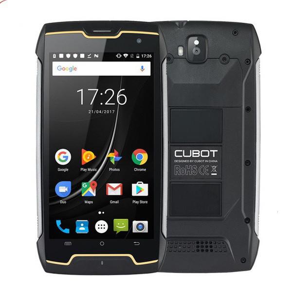 Захищений смартфон Cubot King Kong Black 2/16gb ip68 MediaTek MT6580 4400 мАч