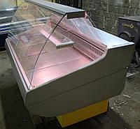 Холодильная витрина гастрономическая «Росс Siena» 1.6 м. (Украина), Широкая выкладка 72 см, Б/у, фото 1